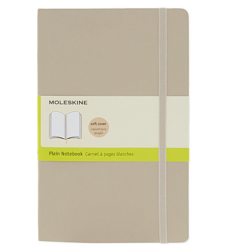 MOLESKINE 大型素色笔记本电脑