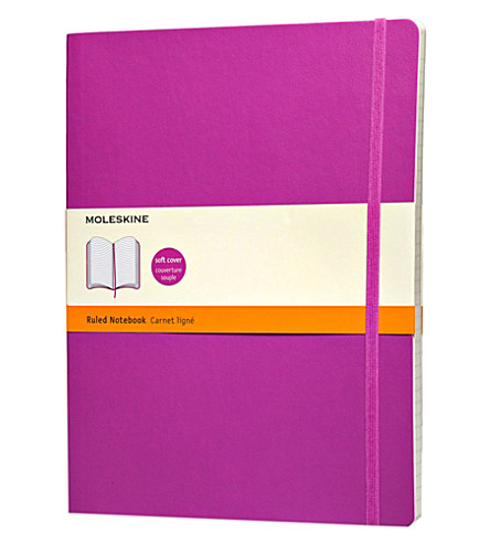 MOLESKINE Extra Large Ruled soft notebook