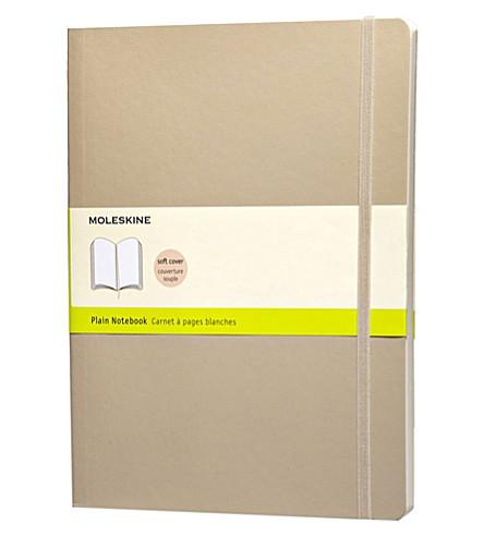 MOLESKINE 超大素色卡其米色笔记本