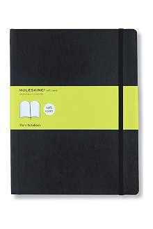 MOLESKINE Extra large soft cover plain notebook