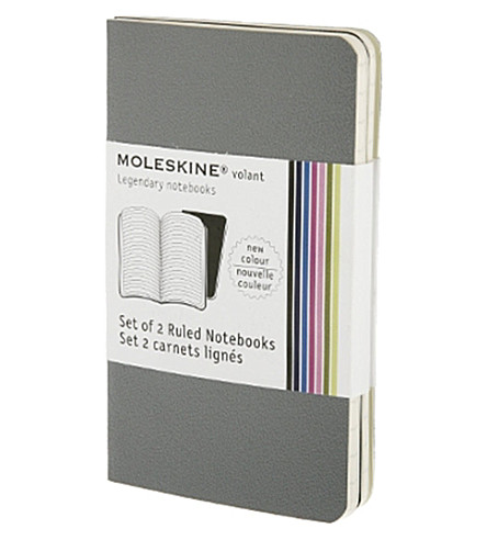 MOLESKINE Set of two Volant rule notebooks