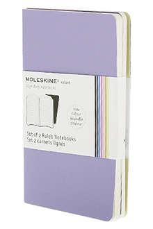 MOLESKINE Set of two ruled Volant Pocket notebooks