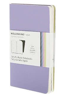 MOLESKINE Set of two ruled Volant Pocket notebooks