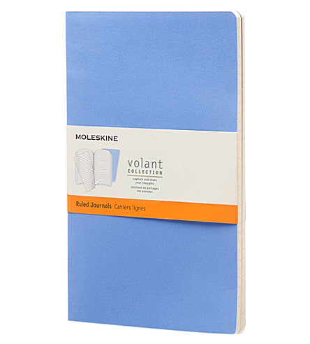 MOLESKINE Set of two cahier large ruled journals