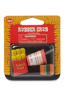 NPW Rubber grub eraser sets