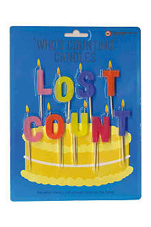 NPW Who's counting birthday candles
