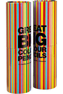 NPW Great Big Colour Pencils