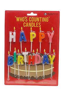 NPW Happy Birthday candles