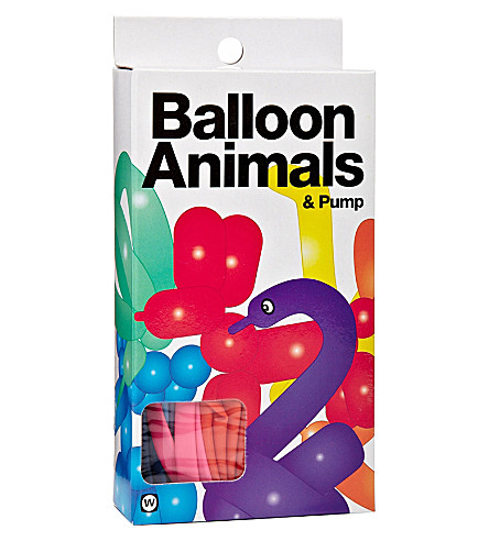 NPW Balloon animals and pump kit
