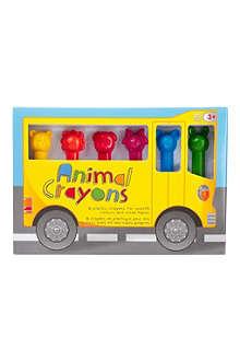 NPW Animal crayons 6-pack