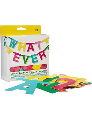 NPW Whatever banner kit