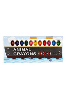 NPW Animal plastic crayons