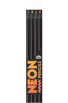 NPW Neon pencils