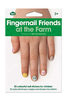 NPW Fingernail friends farm nail stickers