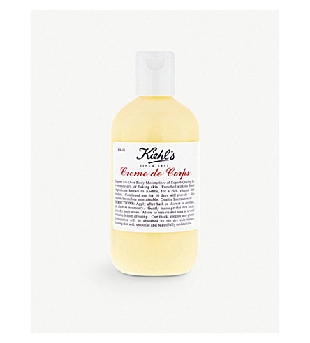 KIEHL'S Crème de Corps body moisturiser 125ml