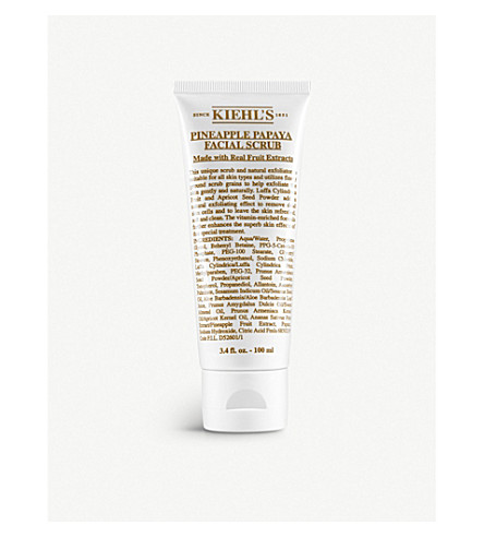KIEHL'S Pineapple papaya facial scrub 100ml