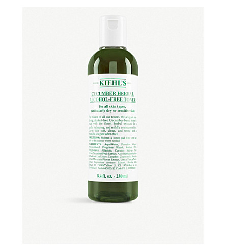 KIEHL'S Cucumber herbal alcohol–free toner