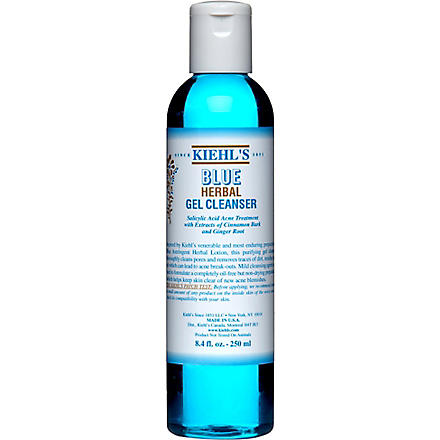 KIEHL'S Blue Herbal gel cleanser