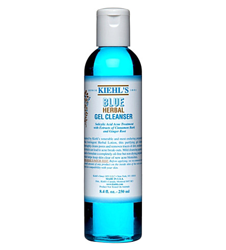 KIEHL'S Blue Herbal gel cleanser