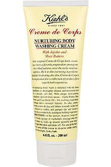 KIEHL'S Crème de Corps nurturing body wash 200ml