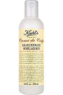 KIEHL'S Crème de Corps lightweight body lotion 250ml