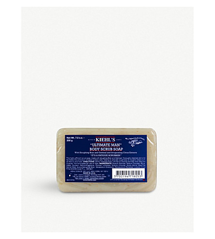 KIEHL'S Ultimate Man body scrub 200g