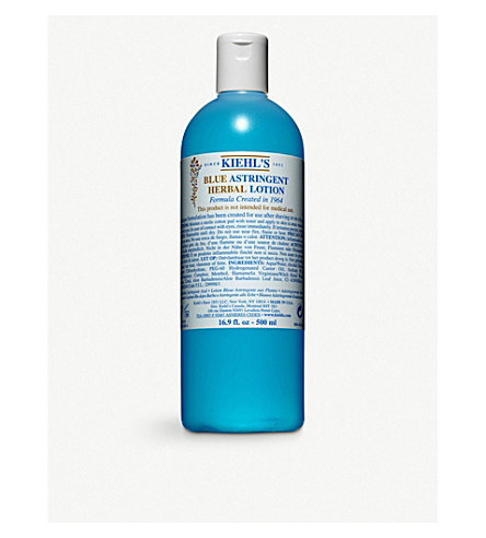 KIEHL'S Blue Astringent herbal lotion 500ml