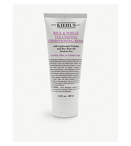 KIEHL'S Rice and Wheat volumising conditioner 200ml