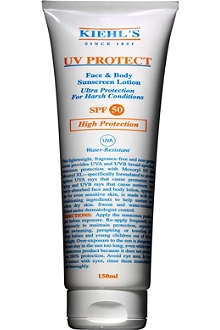 KIEHL'S UV Protect face & body sunscreen lotion SPF 50