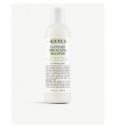 KIEHL'S Ultimate thickening shampoo 250ml