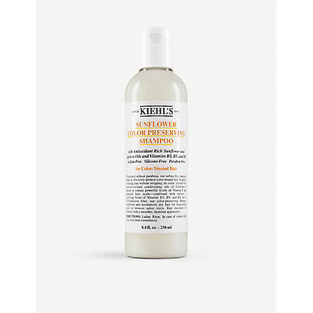KIEHL'S Sunflower colour preserving shampoo 250ml