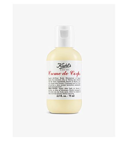 KIEHL'S Crème de Corps body moisturiser 75ml
