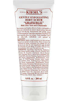 KIEHL'S Gently exfoliating scrub - grapefruit 200ml