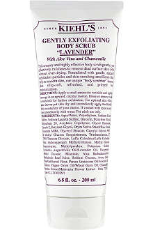 KIEHL'S Gently exfoliating scrub - lavender 200ml