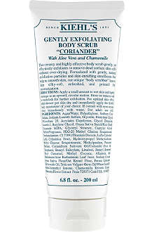 KIEHL'S Gently exfoliating scrub - coriander 200ml