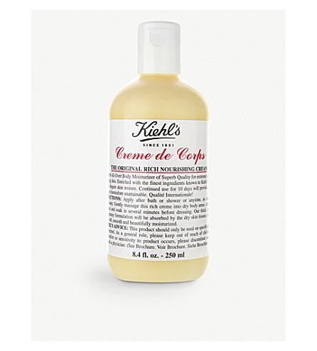KIEHL'S Crème de Corps body moisturiser 250ml