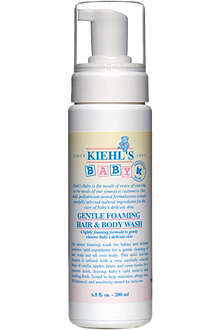KIEHL'S Baby gentle foaming hair and body wash 200ml