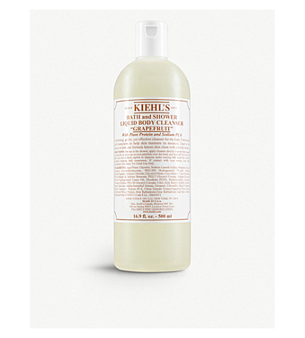 KIEHL'S Grapefuit bath & shower liquid body cleanser 500ml