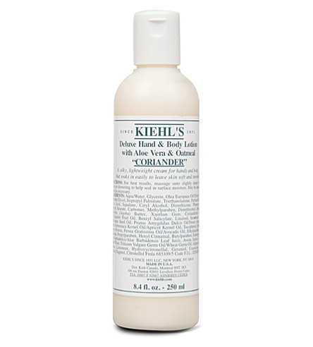 KIEHL'S Deluxe hand & body lotion 250ml