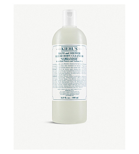 KIEHL'S Coriander bath & shower liquid body cleanser 500ml
