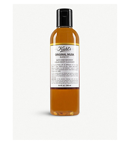 KIEHL'S Original Musk bath and shower body cleanser 250ml