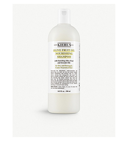 KIEHL'S Olive Fruit nourishing shampoo 500ml