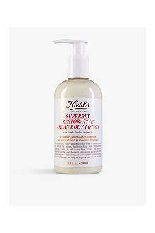 KIEHL'S Superbly Restorative argan body lotion 200ml