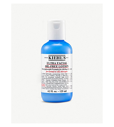 KIEHL'S 超面部 oil–free 乳液125毫升