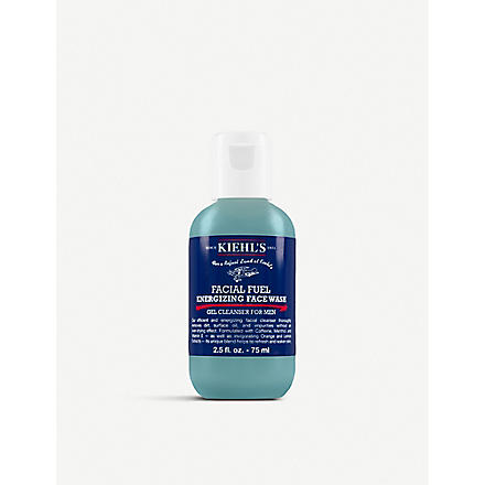 KIEHL'S Facial Fuel energising face wash 75ml