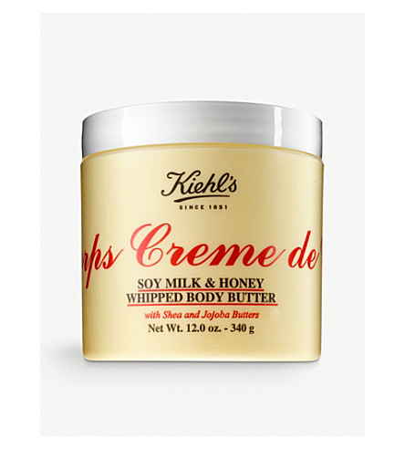 KIEHL'S Crème de Corps Soy Milk and Honey whipped body butter 340g
