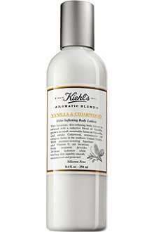 KIEHL'S Vanilla & cedarwood skin-softening body lotion