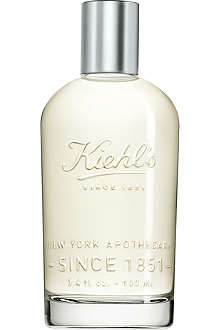 KIEHL'S Vanilla and cedarwood eau de toilette 100ml