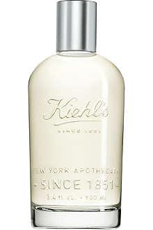 KIEHL'S Vanilla and cedarwood eau de toilette 100ml