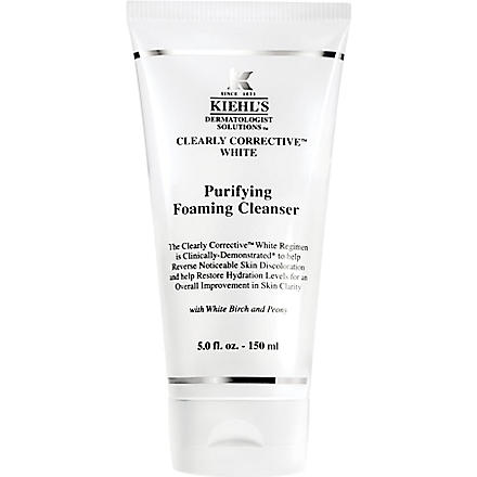 KIEHL'S Clearly Corrective White cleanser
